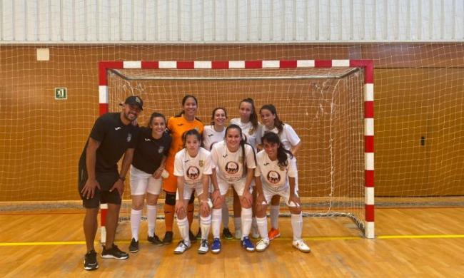 Victoria del fútbol sala femenino frente al Gasifred