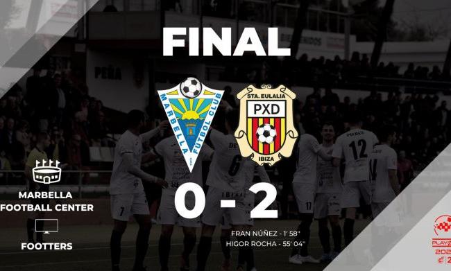 Marbella FC 0 - SCR Peña Deportiva 2