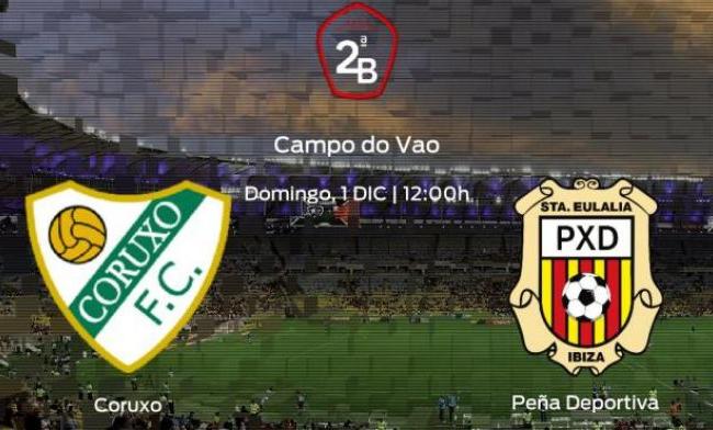 PREVIA| Coruxo FC- S.C.R Peña Deportiva