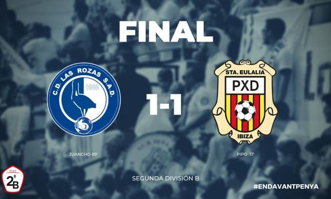 Las Rozas C.F.  1 - SCR Peña Deportiva  1