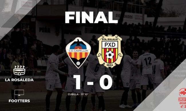 CD Castellón  1  -SCR Peña Deportiva  0
