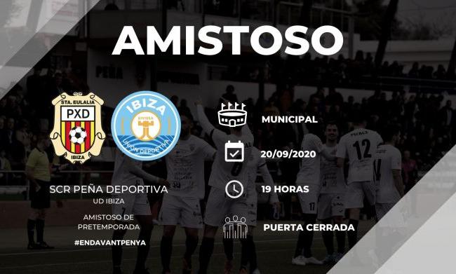 Amistoso SCR Peña Deportiva- UD Ibiza