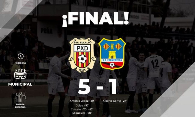 SCR Peña Deportiva 5 SD Formentera 1