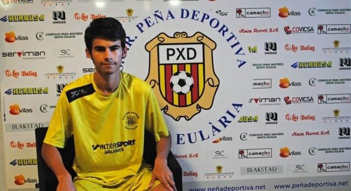Daniel Claverías Gutiérrez, nuevo fichaje del Juvenil A