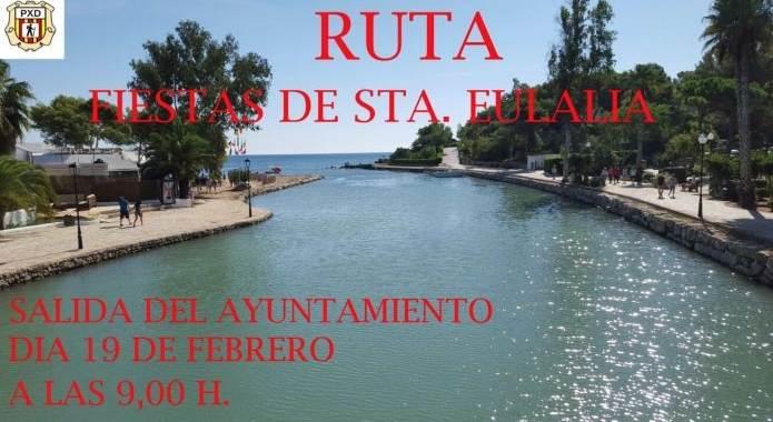 NUEVA RUTA DE SENDERISMO, DOMINGO 19
