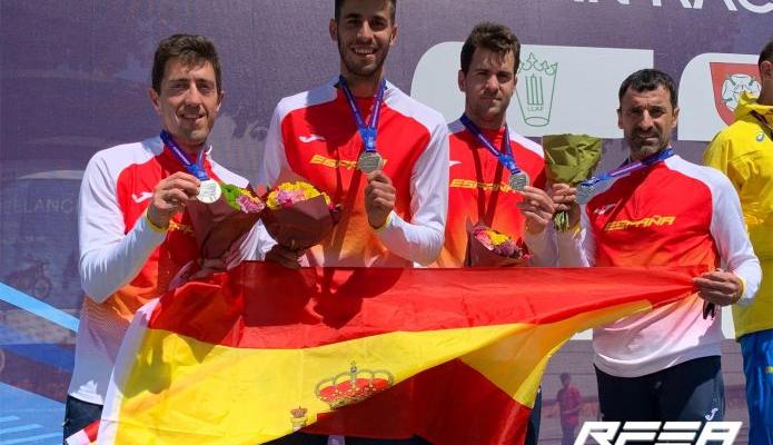 Marc Tur plata en el Europeo por equipos