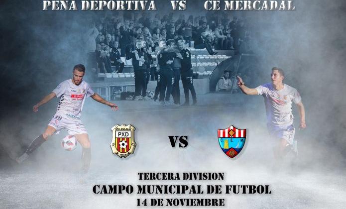 Peña Deportiva vs Mercadal (aplazado sin fecha)