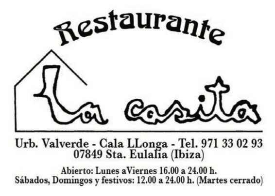 Restaurante La Casita