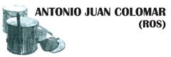 Antonio Juan Colomar