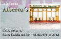Cafetería Albertos
