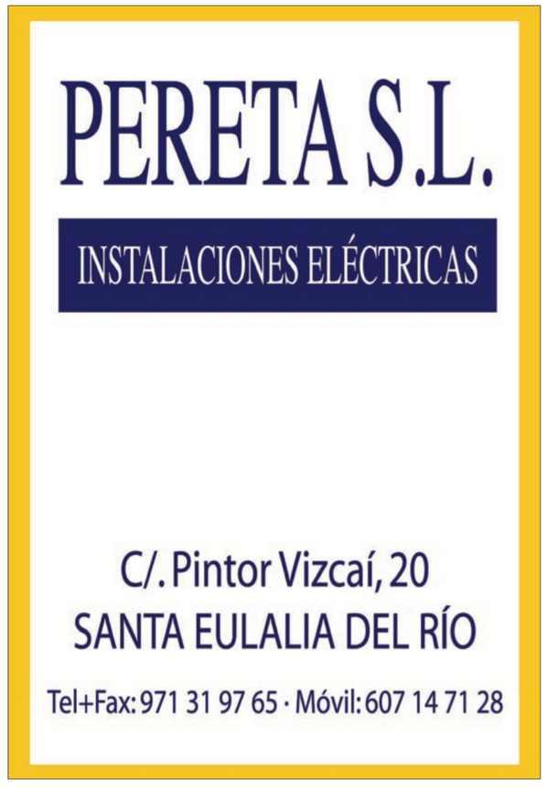 Pereta S.L. Instalaciones eléctricas