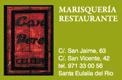 Restaurante Ca'n Pere Celler